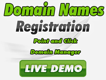 Discounted domain name service providers